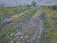 55/ moorland foot path framed size 73 x 61 cm £575