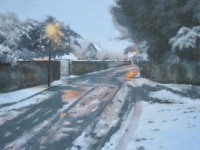 54/ melting snow framed size 59 x 49 cm £450