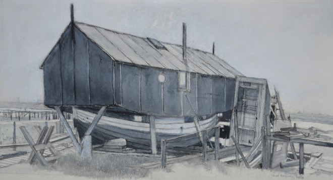Houseboat Greatham Creek 1972