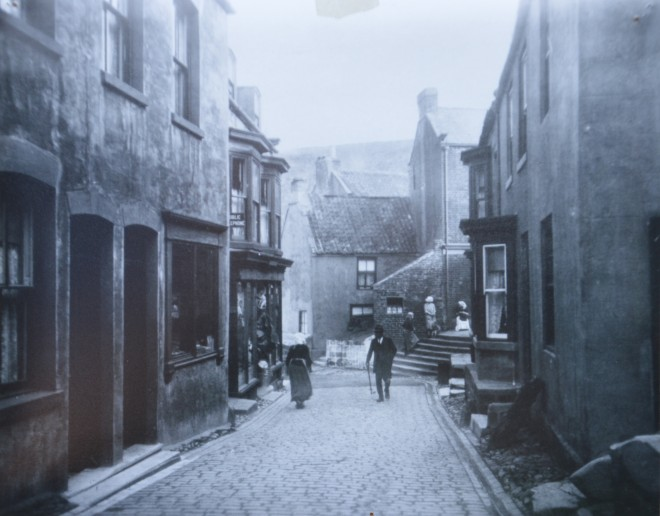 Old photo Staithes High St