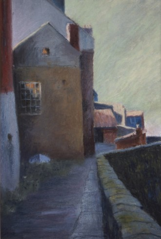 Staithes back lane